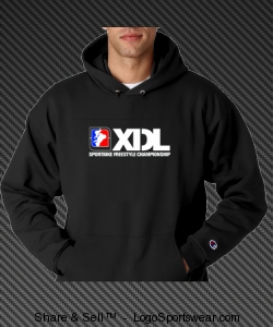 Black XDL Hoody Design Zoom
